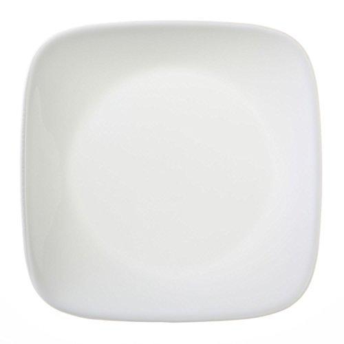 """Corelle Square Pure White 6-1/2"""" Plate"""