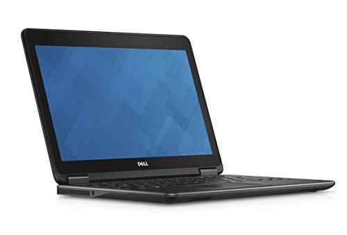 Dell Latitude E7270 12,5 pulgadas HD pantalla Intel Core i7 256 GB SSD disco duro 8 GB memoria Windows 10 Pro Webcam Business Notebook (certificado y reacondicionado)