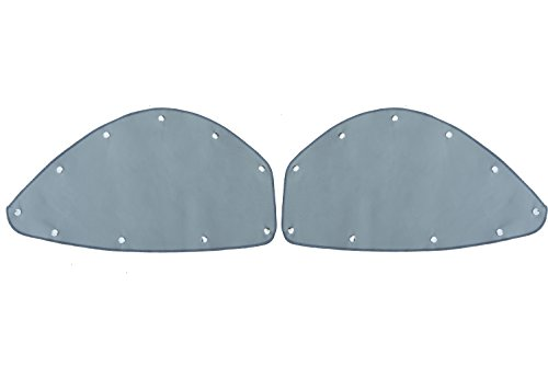 Rio Transport Freightliner Cascadia Blackout Cover 2 Piece Set for Upper Bunk Window (Gray)