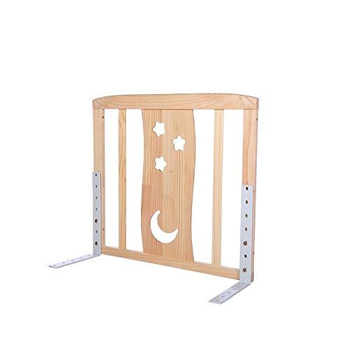 LYFHL Extra breite Bettgitter, Holz (größe : 60cm)