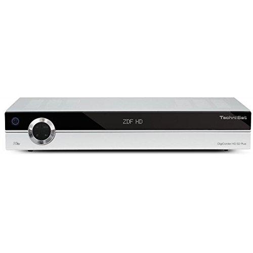 TechniSat DigiCorder HD S2 Plus, 160 GB HDD, Silber (HDTV-Twin-Satellitenreceiver mit integrierter 160 GB Festplatte) B-Ware