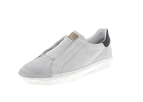 A.S.98 Herrenschuhe - Sneaker 453102 - Bianco Nero, Größe:44 EU