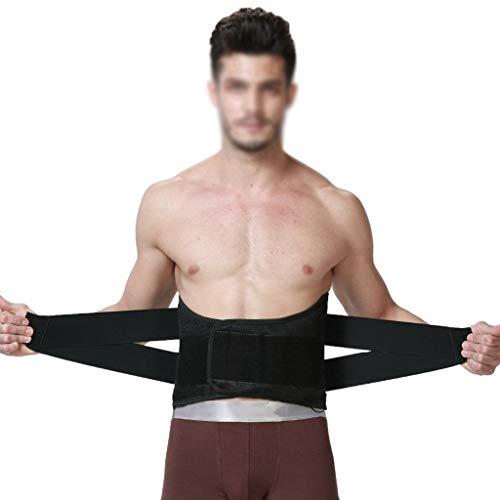 ZCY Ceintures Lombaires sous-vêtements Orthopédiques for Les Hommes Hernie Discale Brace Corset Lombaire Ajustable À La Taille Lower Back Pain Relief Ceinture Lumber Soutien LS