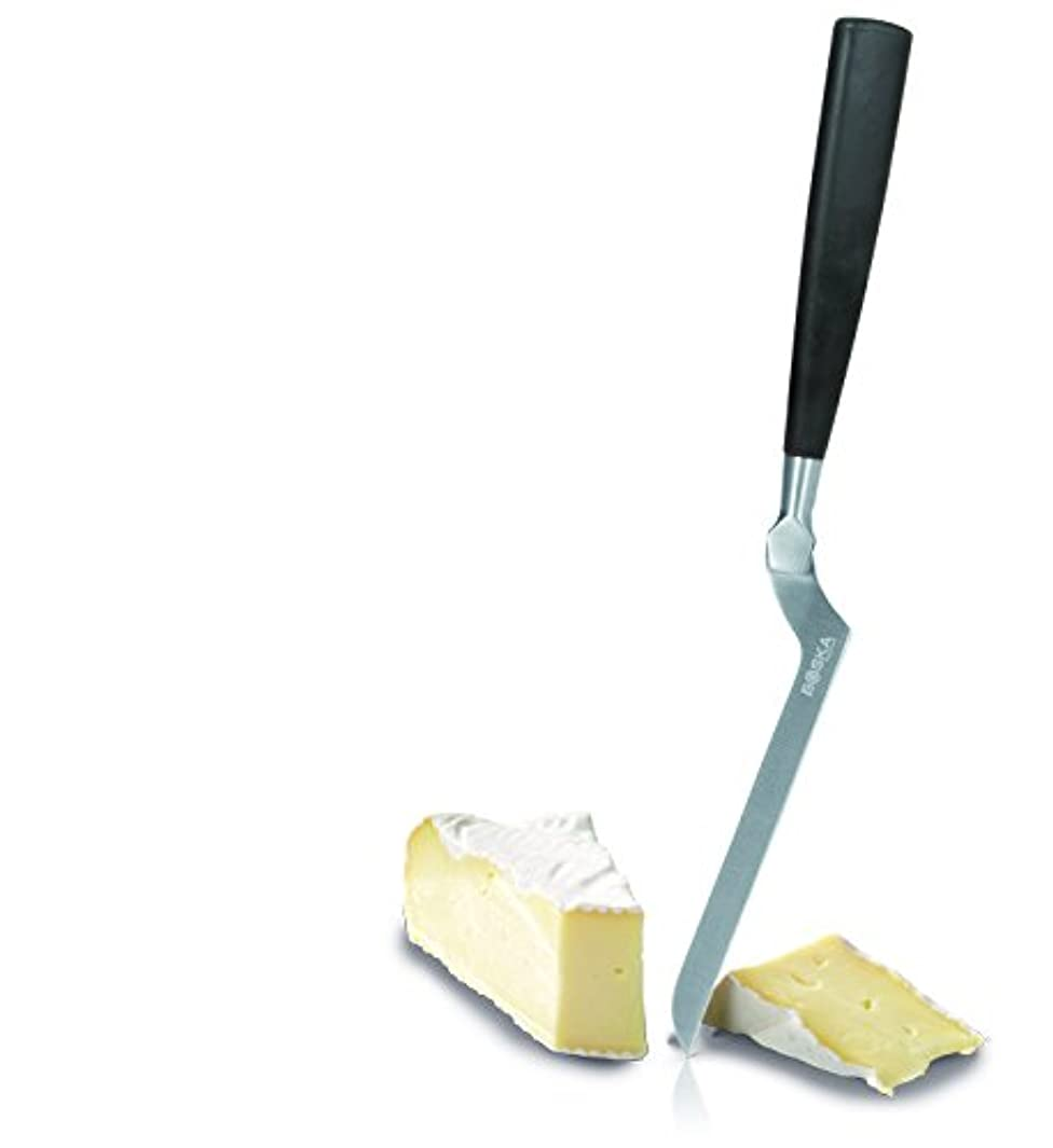 Boska Holland Soft Cheese Knife with Soft Grip Handle, Slim Blade, Brie, 10 Year Guarantee, Amsterdam Collection