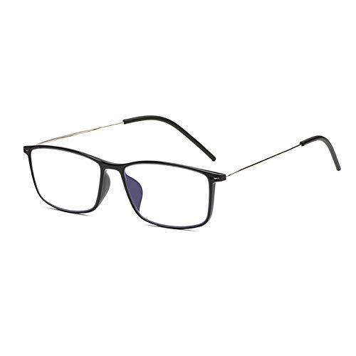 HQMGLASSES Gafas de Lectura de Alta definición Anti-Azul bifocal para Mujer, Lente de árbol de árboles asféricas de los Hombres lejos/Cerca Lector Doble Uso Diopter +1.0 a +3.0,Negro,+2.25