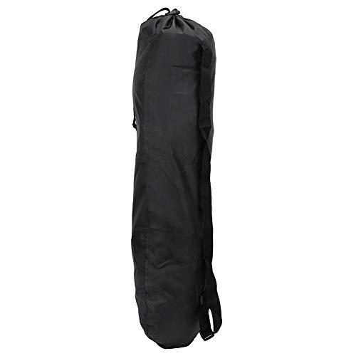 Alomejor Skateboard Tasche Skateboard Aufbewahrungstasche Skateboard One Shoulder Bag 50D Oxford Sport Skateboard Aufbewahrungstasche One Shoulder Carry Case Schwarz 86x28.5cm