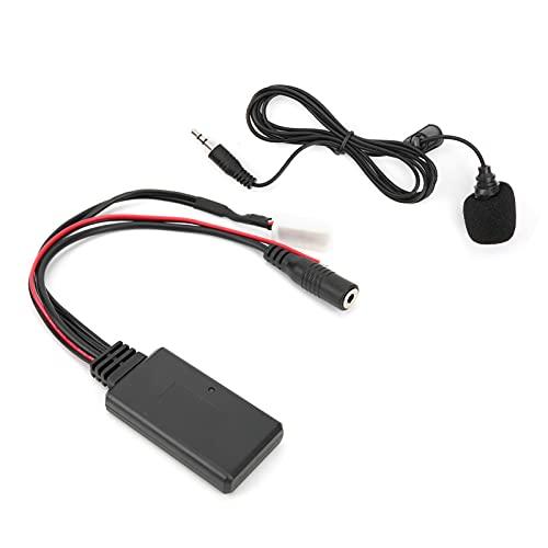 Cable AUX De 5.0, Transmisión De Datos De Fidelidad del Adaptador AUX con Micrófono para Coche