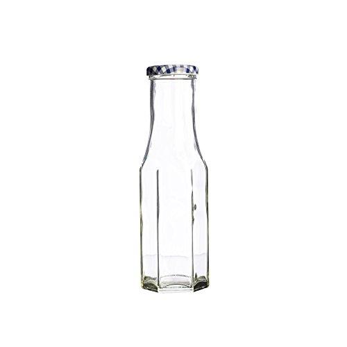 Kilner Hexagonal Twist Top Bottle 250ml | Kilner Preservation Bottle, Storage