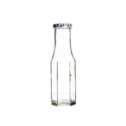 Kilner Hexagonal Twist Top Bottle 250ml | Kilner Preservation Bottle, Storage