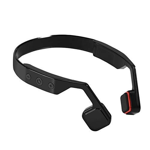 Cuffie Senza Fili, Cuffie a conduzione ossea Bluetooth 4.0 Vivavoce con Microfono Ergonomia Tecnologia avanzata, Cuffie intrauricolari Cuffie con ventaglio per Computer Sportivi