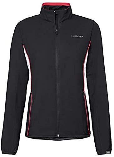 Head Club Jacket W, Tuta da Tracker Donna, Nero, XL