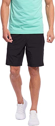 Rhone Men's 9' Mako Short Lined Black XX-Large Quick-Drying Athletic Workout Performance Shorts