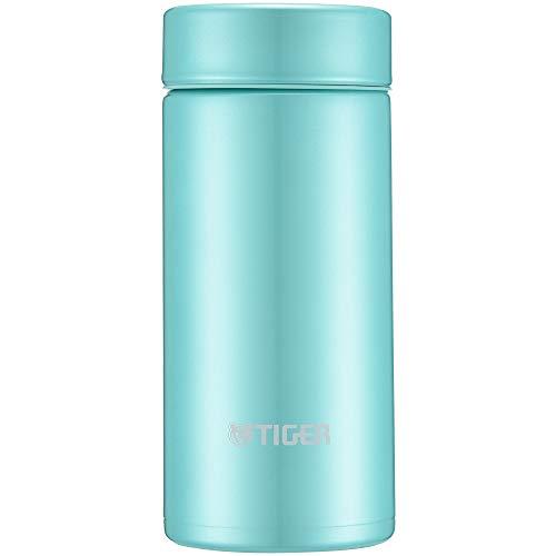 Tiger water bottle 200ml straight drinking stainless mini bottle smooth drinking Sahara mug lightweight dream gravity powder green MMP-J020-GP