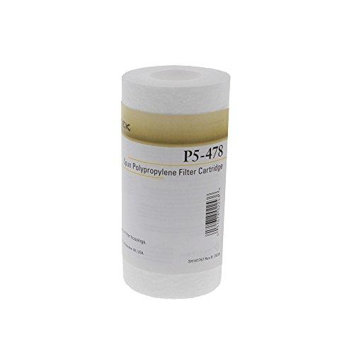 Pentek P5-478 Spun Polypropylene Filter Cartridge, 4-7/8' x 2-3/8', 5 Microns
