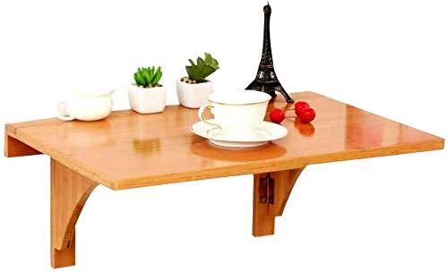 ZXYY wandgemonteerde opklaptafel met 2 beugels keukenblad eettafel opvouwbare computer bureau voor kleine ruimtes multi-size optioneel
