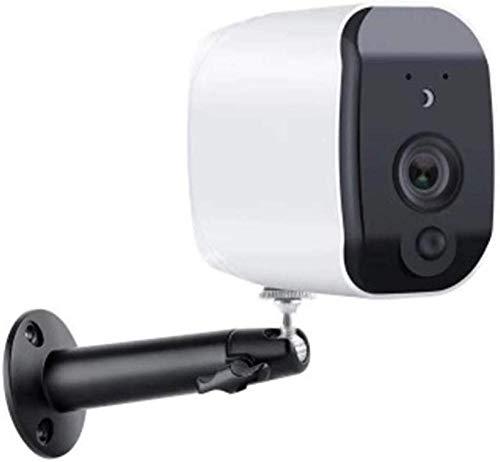 YAYY bewakingscamera voor buiten, wifi, 1080P, draadloos, waterdicht, intelligente IP-camera, accu voor outdoor met PIR-bewegingsmelder, push-alarm, 2-weg audio, infrarood nachtzicht, IP65 waterdicht