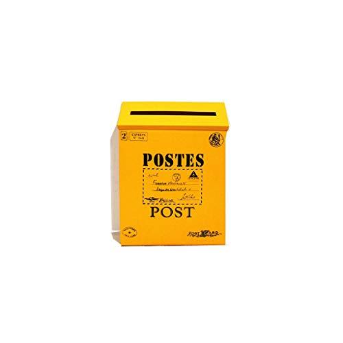 LSXLSD Classic Metal Postbox.- Vintage Brief Briefkasten, Postfach für