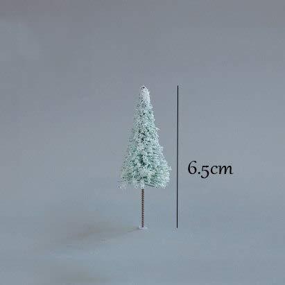 LHOUSSAINE Figurines & Miniatures - simulation plant miniatures christmas tree maple willow pine flower tree diyterrarium figurines mini garden decor 1 PCs