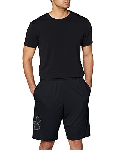 Under Armour Men's Tech Graphic Shorts (Black) $14.99 at Amazon