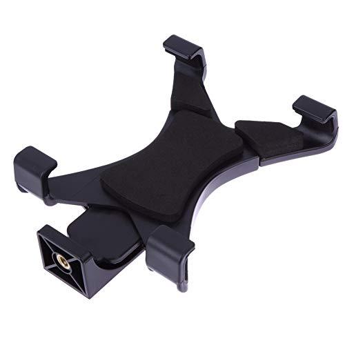 Xusuyunchuang Montaje de trípode Universal de la Tableta del sostenedor del Soporte Abrazadera del Soporte de 1/4' Adaptador for el iPad 2/3/4 / Aire / Aire2 7 '-10,1' cojín de tabletas