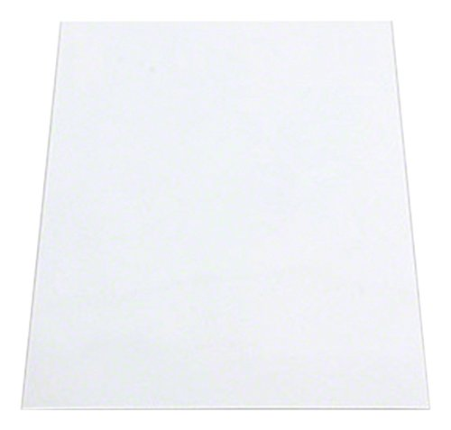 Magneet Expert Zelfklevende Flexibele A4 Whiteboard Sheet - Thuis & Kantoor (297 x 210 x 0.85mm) (Pack van 10)