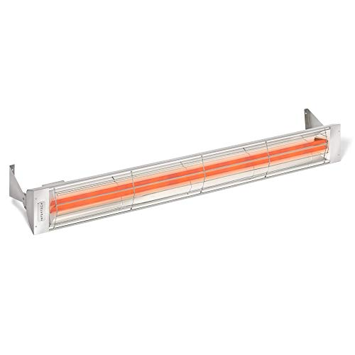 """Infratech WD-Series Dual Element Stainless Steel 61.25"""" 6000 Watt Electric Outdoor Heaters"""