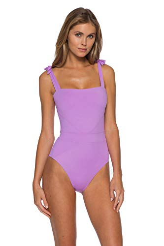 Becca by Rebecca Virtue Women's Emma Over The Shoulder One Piece Swimsuit Lili M