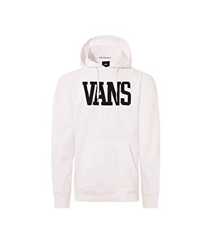 Vans Felpa Uomo SVD University VN0A4575WHT (XL - Bianco)