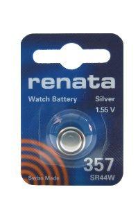 Renata 357 - Pila de óxido de plata (1 unidad)