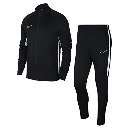 Modello accollato Maniche raglan, tasche laterali, logo Nike Pantaloni da jogging, riga laterale a contrasto, vestibilità aderente