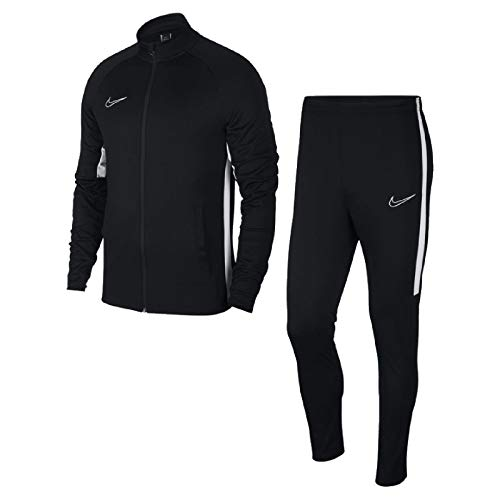 Nike Herren Dri-Fit Academy Trainingsanzug, Black White, L