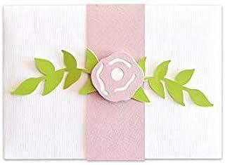 Porta soldi - fiore - cerimonie - matrimonio - busta portasoldi (formato 16 x 11,5 cm) + biglietto d'auguri vuoto all'inte...