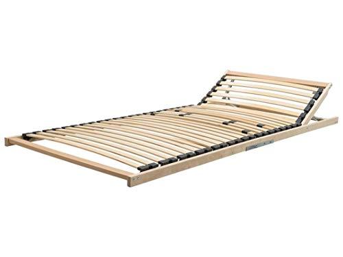 Dekoleidenschaft 5X Federholz Leisten 12x35 mm für 140 cm Lattenrost, Zusatzleisten für Härtegrad-Verstellung 1330 mm