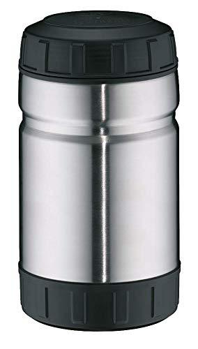 alfi Thermobehälter für Essen Outdoor, Edelstahl mattiert 1L, XXL Speisegefäß für Speisen, Suppen oder Müsli unterwegs, auslaufsicher, BPA-Frei, 6 Stunden heiß, 10 Stunden kalt - 5708.205.100