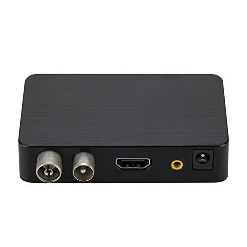 Ctzrzyt K2 DVB-T / T2 TV Ricevitore 3D Digitale Video Terrestre MPEG4 PVR HD 1080P Decoder TV Box (Spina EU)