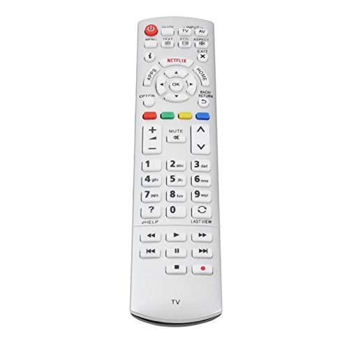 PUSOKEI Reemplazo de Control Remoto de TV para Panasonic Smart Television Remote Controller para Panasonic N2QAYB000842, N2QAYB000840, N2QAYB00101, N2QAYB000074 N2QAYB000928
