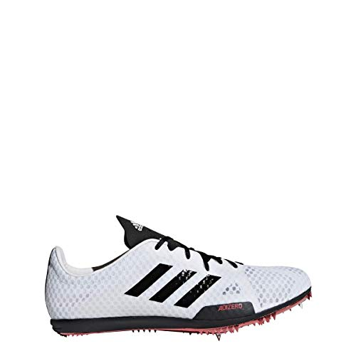 adidas Adizero Ambition 4 Spike Schuh Damen Track Field Weiß, (White-core Black-shock Rot), 42 EU