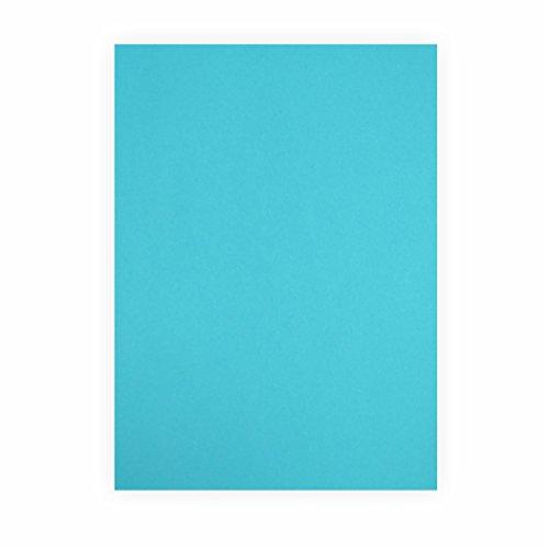 Tonpapier türkis 130g/m², 50x70cm, 1 Bogen/Blatt
