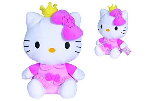 Simba Hello Kitty Peluche Principessa 50 cm, + 0 Anni, 109281013