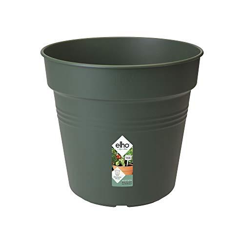Elho Green Basics Pot De Culture 40 - Growpot - Leaf Green - Intérieur & Extérieur - Ø 39.9 x H 36.8 cm
