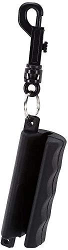 Namvo Extractor de flecha de tiro con arco, de silicona, color negro, con llavero, para tiro de tiro