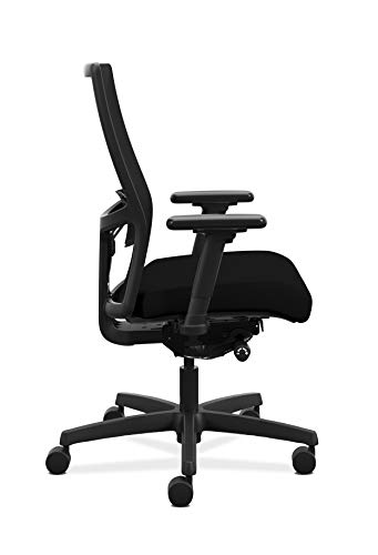 HON Ignition 2.0 Mid-Back Adjustable Lumbar Work Mesh Computer Chair for Office...