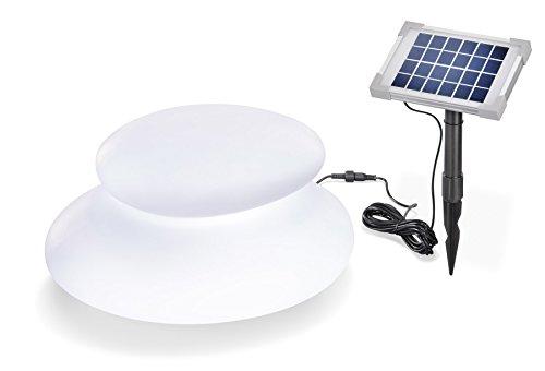 Esotec 106012 Lampe solaire 8 couleurs de lumière permanente ou de changement Dimensions : 39 x 32 x 22 cm