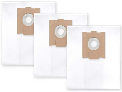 3x Vlies Staubbeutel Filtersack für FEINSTAUB/BAUSTAUB 6-lagig für Festool CTL/CTM 36, 48 AC,EAC, CT 36/5 (nicht fuer 48)