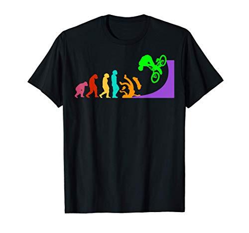 BMX Vélo cycliste BMX Bicyclettes Évolution cyclisme BMX T-Shirt