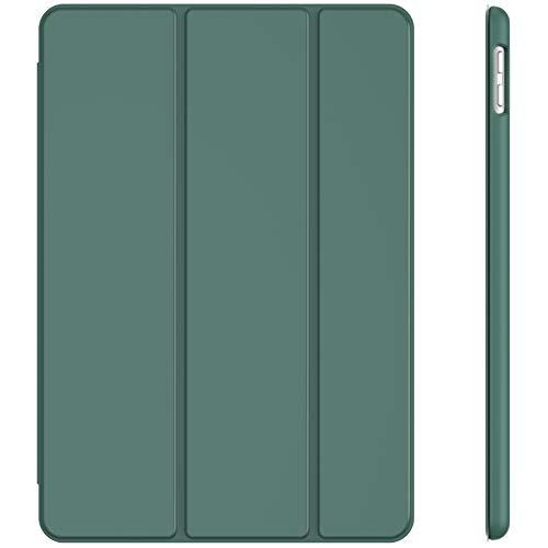 JETech Hülle für iPad 8/7 (10,2 Zoll, Modell 2020/2019, 8./7. Generation), Auto Schlafen/Wachen, Misty Blau