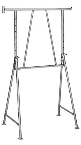 Stahlr. - Gerüstbock verzinkt 1,20m - 1,95m ausziehbar