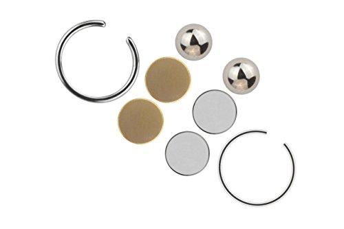 Fake Piercing Lippe Septum Ohrschmuck Magnet Universal