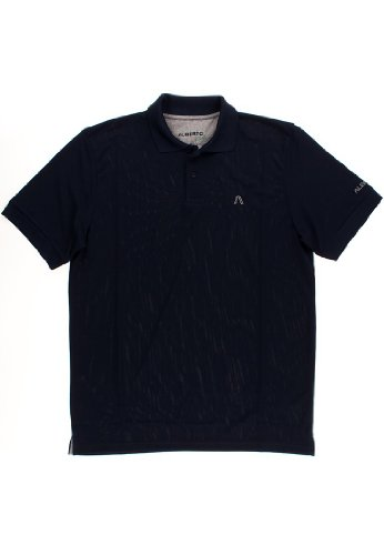 Alberto Golf Polo Shirt Hugh 06496570/650 Gr. Medium, Blau(899)