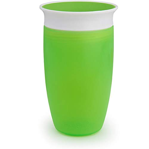 Munchkin Miracle 360 Sippy Cup, Green, 10 Ounce, 2 Count by Munchkin